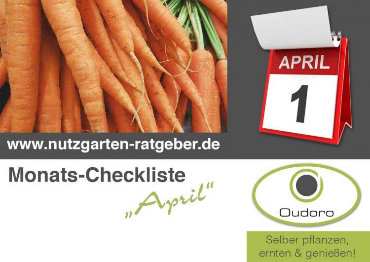 Der Nutzgarten Ratgeber für den Monat April