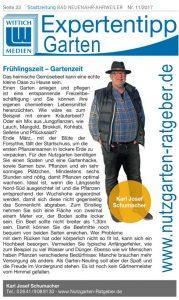 STadtzeitung - Ausgabe Frühlingszeit - Gartenzeit